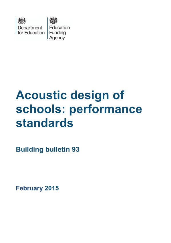 Building Bulletin 93 (BB93) Cover