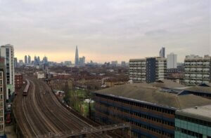 View of London from Vauhall