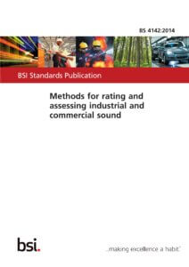 Cover of BS 4142: 2014